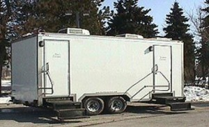 Portable Trailer Toilets